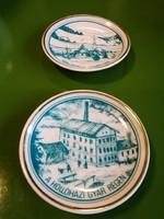 Hollóházi porcelán tányér,falitányér