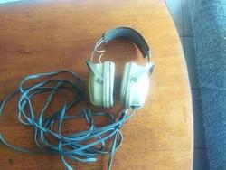 Retro Videoton stereo fejhallgató