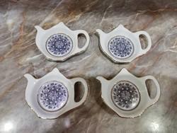 Porcelán Tea Filter Tartó