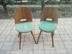 Retro csehszlovák TATRA szék 2drb egyben mid century retro vintage loft minimál felujitásra