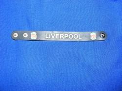 Liverpool  szurkolói karkötő foci , labdarúgás, gyűjőknek a 90-es évekből