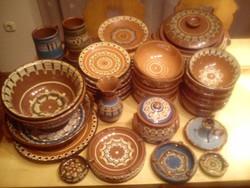 Bolgár népművészeti étkészlet