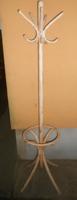 Thonet hajlított fa álló fogas akasztó esernyőtartós antikolt 180*40 cm