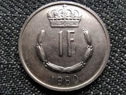 Luxemburg János (1964-2000) 1 Frank 1980 (id36659)