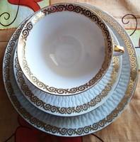 Reggeliző készlet porcelán