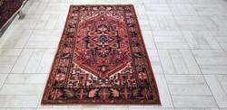 Indiai Heriz 90x162 kézi gyapjú perzsa szőnyeg Kzm_215 ingyen posta