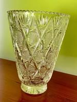 Ólomkristály váza AKCIÓS!!
