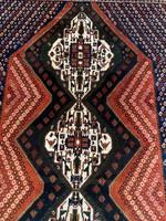 Semi Antik Kézi csomózású Afschar Perzsaszőnyeg 210x290