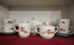 Drasche porcelán készlet /hiányos /