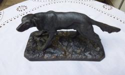 Öntvény kutya, a Ganz- MÁVAG  fejlesztőmérnökének készítették 1935ben