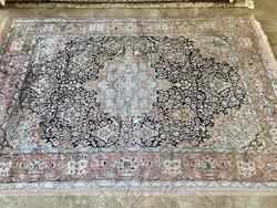 Kasmiri 100% selyem szőnyeg 316x210cm