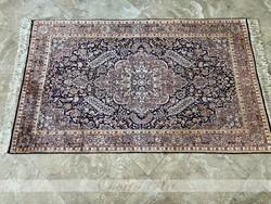 Full selyem kasmiri perzsaszőnyeg 206x118