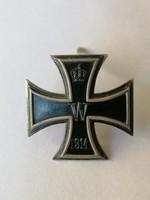 I Világháború Vas kereszt / Iron Cross /  I osztály Jelzett!