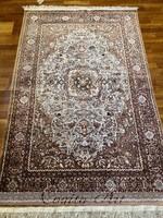 GHOM selyem perzsaszőnyeg 200x120 cm