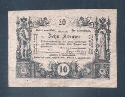10 Krajcár, Kreuzer 1860 VF