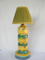 Iparművész kerámia retro lámpa
