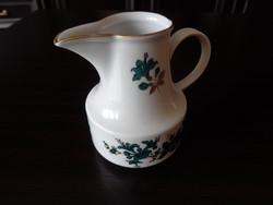 Henneberg 1777  GDR porcelán tejes kiöntő!  Olvass el!