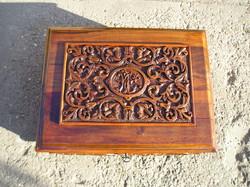 Neoreneszánsz - Ónémet doboz finom faragással gyönyörűen felújítva! XIX. század