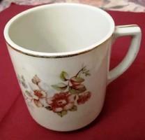 Drasche porcelán  bögre barack virágos