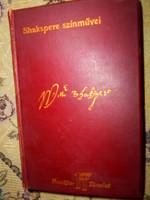 Shakspere Vígjátékai 1902 Franklin kiadás