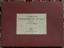 A MAGYAR NYELVJÁRÁSOK ATLASZA VI. RÉSZ 1977  KÖNYV JÓ ÁLLAPOTBAN (NAGYON RITKÁN FORDUL ELŐ)