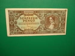 100000 pengő 1945