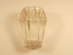 Retro kis üveg váza - 1970-es évekből