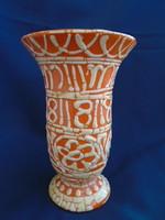 Gorka Géza váza.   hibátlan vitrin állapotban van ....18,5 cm