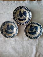 Erdélyi kakasos tányér, falitányér - Korond