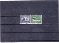 Német birodalom légiposta bélyegpár 1938