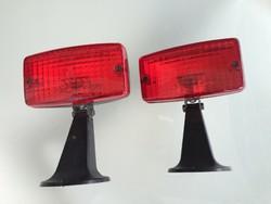 Retro régi veterán lámpa DDR Ruhla autó féklámpa