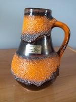 Carstens Nyugat-német füles kerámia váza