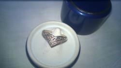 Új ezüst gyűrű szép,- nagyméret  925-ös