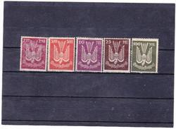 Német birodalom légiposta bélyegeg 1922-1923