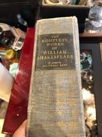 Shakespeare antológia, 1932-es kiadás, amerikai, ajándéknak.