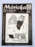 1996 11 16  /  PIKÁNS HUMORLAP 34  /  Móricka  /  Ssz.:  13281
