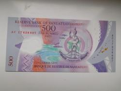 Vanuatu 500 vatu 2014 UNC Polymer