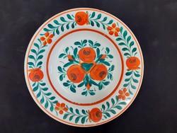 Népi fali tányér, Hollóházi tányér