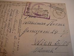 Madagaskar - II.vh. levelezőlap, 1941.