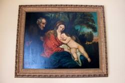 Gyönyörű Antik Festmény A XIX. Századból