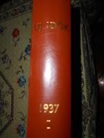 26 db 1937 évi  ÚJ IDŐK KÉPES HETILAP könyvbe kötve. 250 Ft/db-KIEMELT ÁLLAPOT