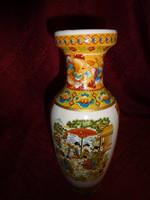 Japán porcelán váza, magassága 25 cm.