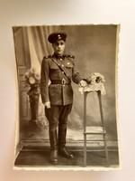 Régi katona fotó 1953 fénykép