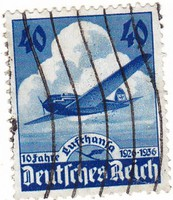 Német birodalom emlékbélyeg  1936