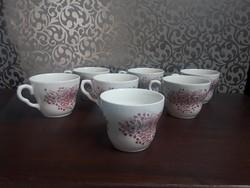 3763 - Angol teás- kávéscsésze + cukortartó