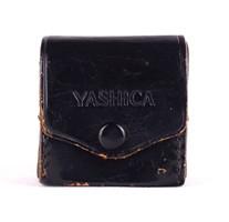 1C092 Régi bőr Yashica fényképezőgép lencse tok