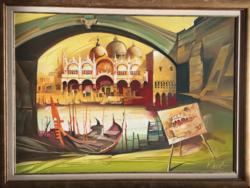 Fassel Ferenc festmény eladó