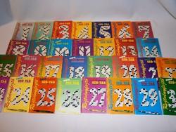 Rejtvényfejtő mini szó-tár 1-30-ig 1985-1993-ig