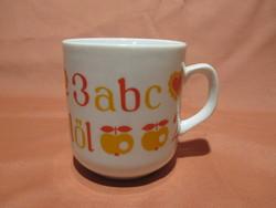 Alföldi ABC-s kis bögre, csésze