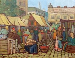 Beliczay 912 jelzéssel: Kisvárosi piac